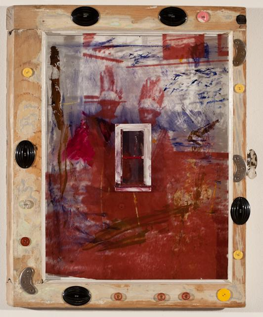 Mildred Howard, *Broken Bow*, 1993. Mixed media on artist-made frame, 30 x 9 x 1 3/4 inches.
